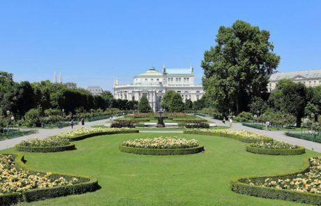 Wien - Volksgarten © By Bwag, via Wikimedia Commons