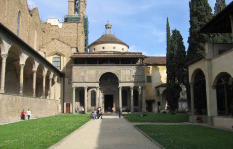 Františkánský chrám Santa Croce