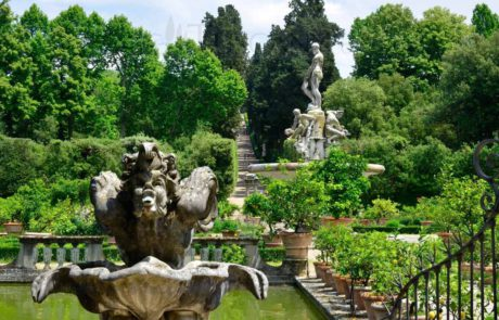 Giardino di Boboli - největší zahradní areál ve Florencii